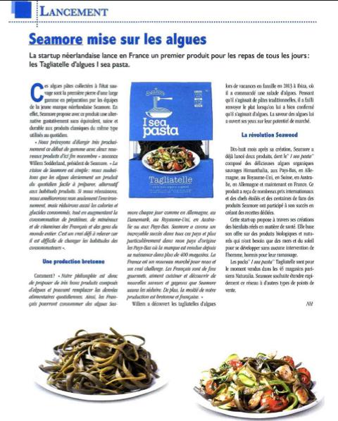 Seamore et ses I sea Pasta dans Leader Réunion