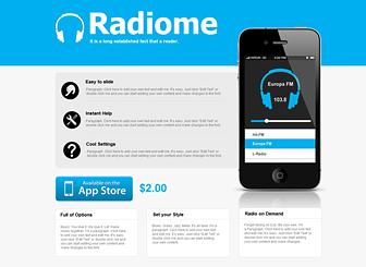 App Store Website Template | WIX