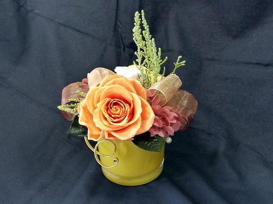 UN-014  Sunset Orange Rose Arrangement