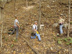 Planting Natives in the Preserve