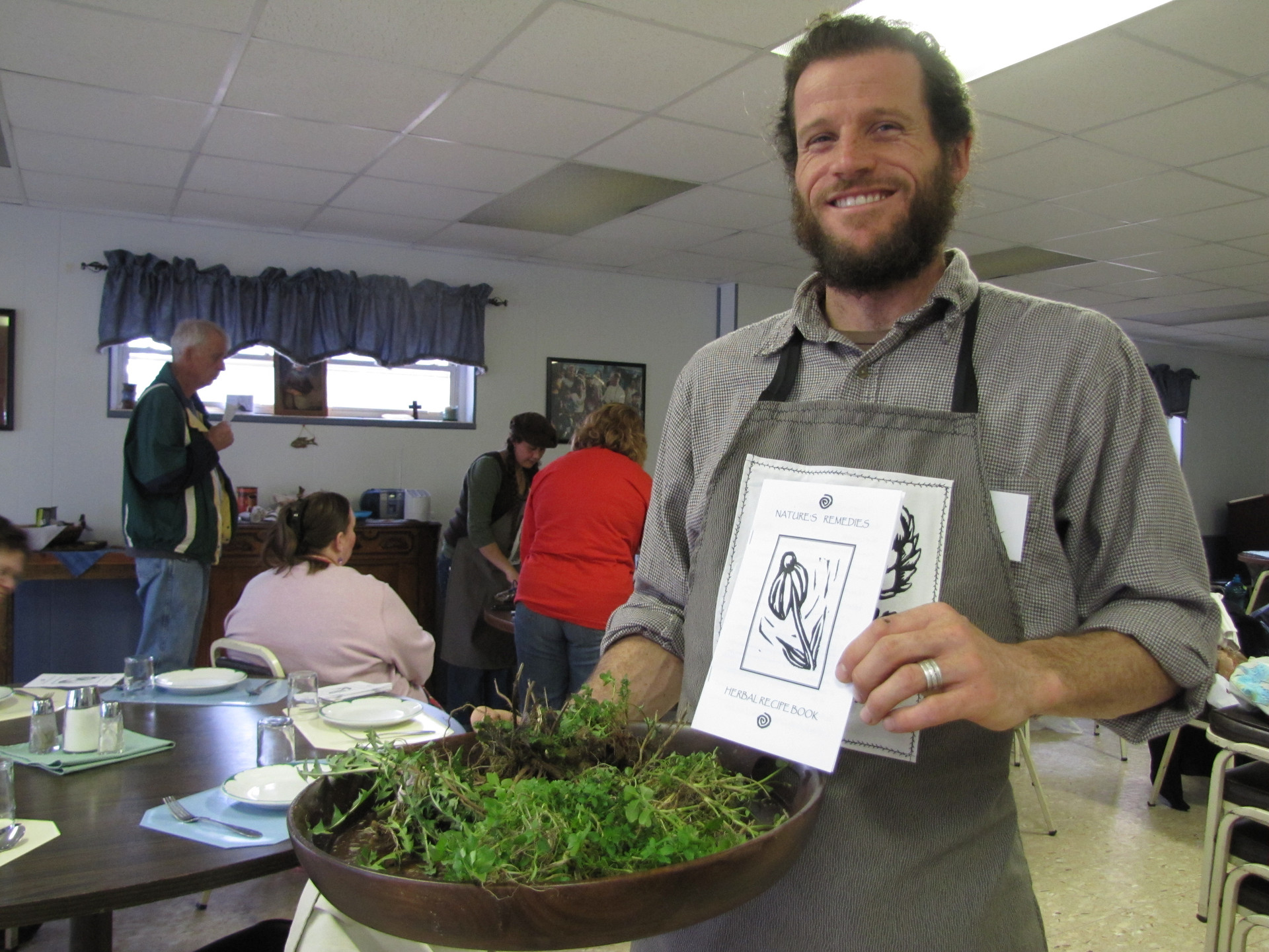 Edible plant workshop