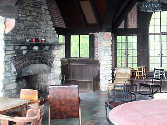 Inside view of the lodge