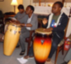 Novices Drumming