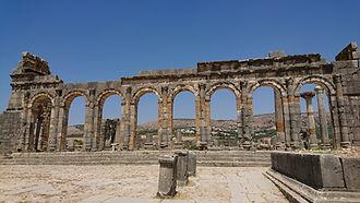 basilica Volubilis 1 (Medium).JPG