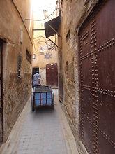 caminho até ao riad em Fez 4(Large).JPG