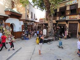 Mafalda Moutinho na Place Seffarine.JPG