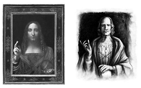 16 - Salvator Mundi e Retrato doge.jpg