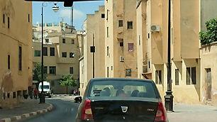 Boulevard Ben Mohammed El Alaoui em Fez.