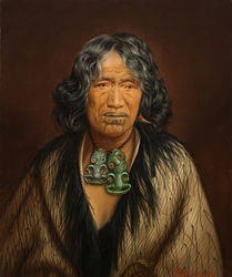 Hei Tiki in Lindauer portrait - Ms. Kuin