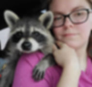 Ralph raccoon and Linsey