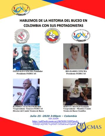 HABLEMOS DE LA HISTORIA DEL BUCEO EN COLOMBIA CON SUS PROTAGONISTAS