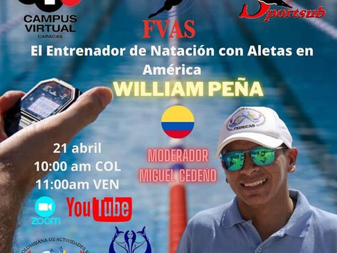 CONVERSATORIO - EL ENTRENADOR DE NATACIÓN CON ALETAS EN AMÉRICA