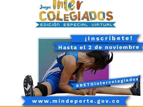 JUEGOS INTERCOLEGIADOS - EDICIÓN ESPECIAL VIRTUAL 2020