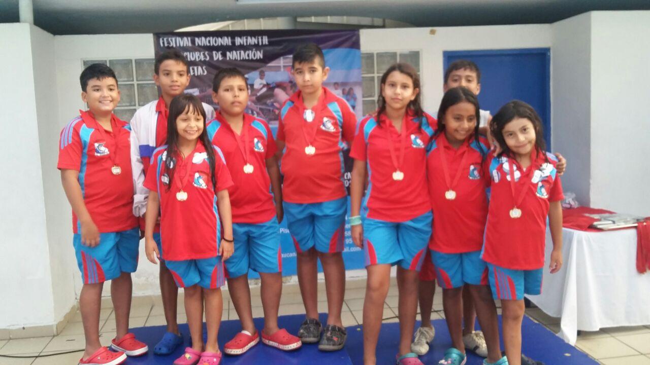 Festival Infantil Nat. con Aletas