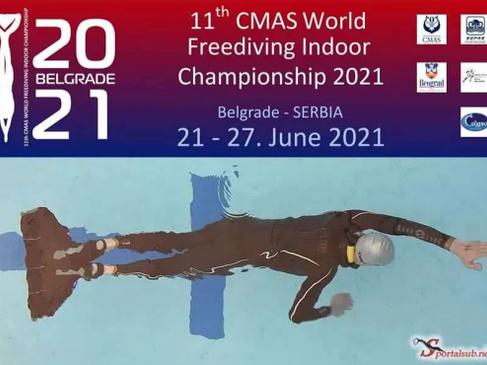 RESULTADO 11vo. CAMPEONATO MUNDIAL DE APNEA INDOOR CMAS 2021 - BELGRADO SERBIA
