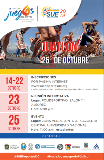 TORNEO UNIVERSITARIO DE DUATLÓN SUE 2019