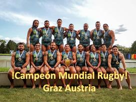 Campeón Mundial Rugby - Graz Austria