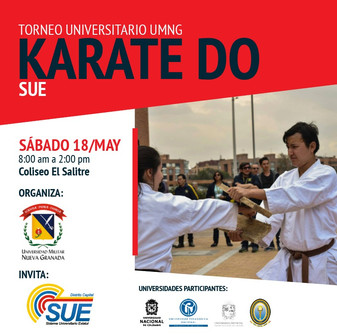 "TORNEO UNIVERSITARIO DE KARATE-DO ""SUE"" 2019"