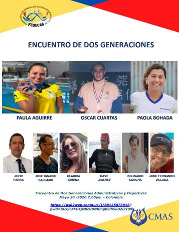 ENCUENTRO DE DOS GENERACIONES ADMINISTRATIVAS Y DEPORTIVAS EN FEDECAS