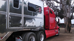 Last truck out of Pomona, Ca