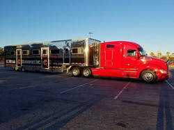 KC Horse Transport's newest rigs
