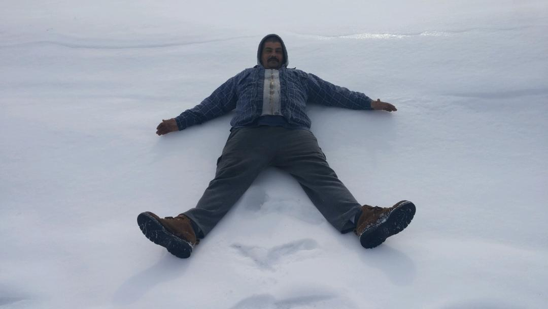 A snow angel???