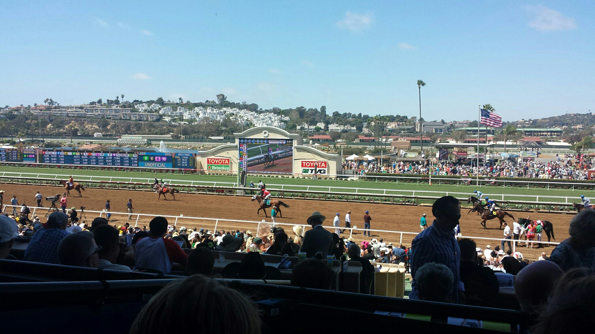 Races at Del Mar