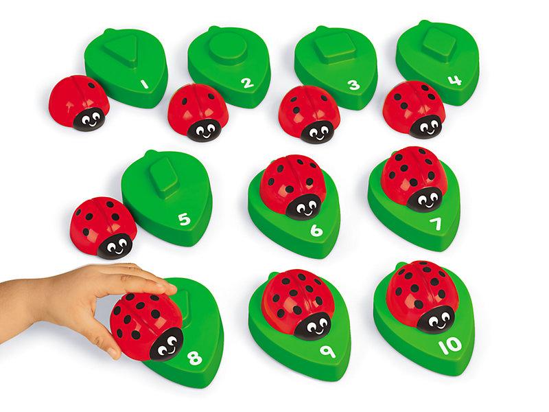 Ladybug Number Match