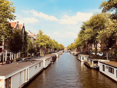 My first impressions of Amsterdam: David