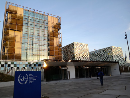 A trial at the International Criminal Court