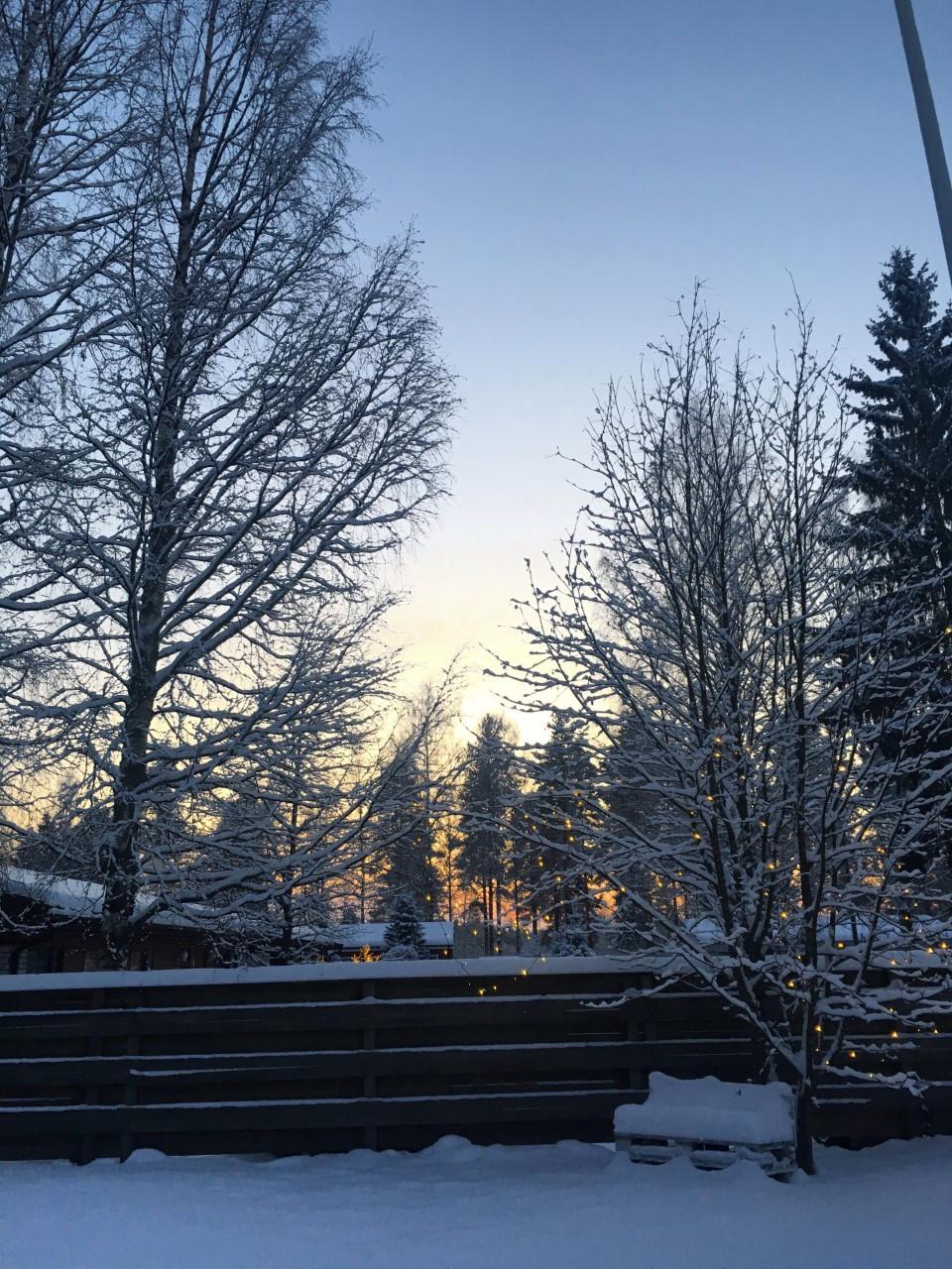 Wintery Finland