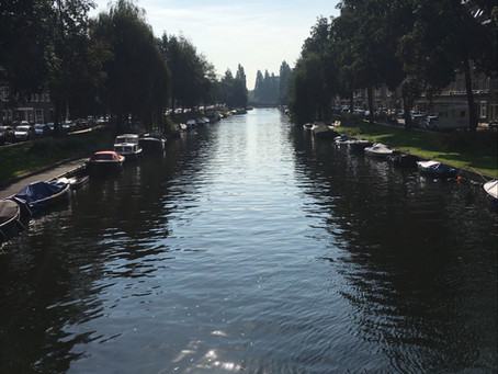 My first impressions of Amsterdam: John