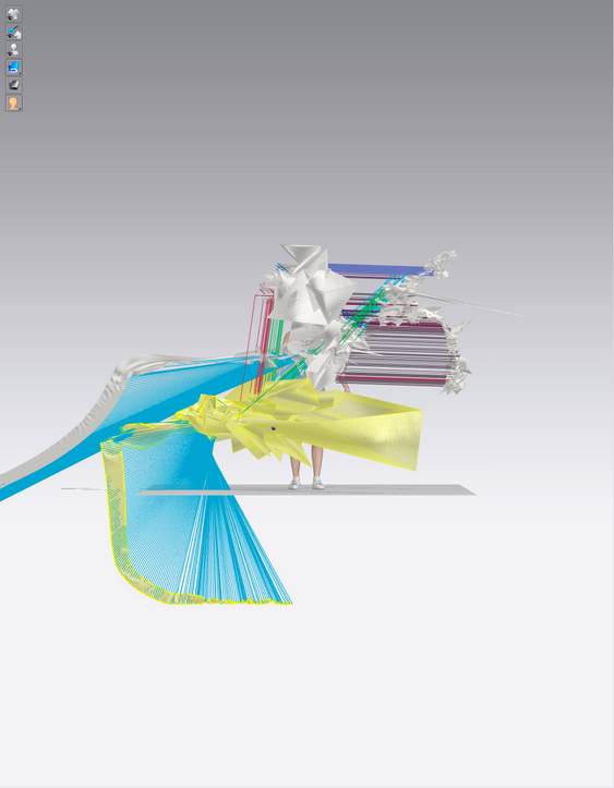 the standard T is generated with the software CLO3D- virtual fashion