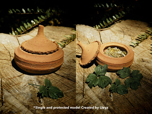 Pot herboristerie sacrée