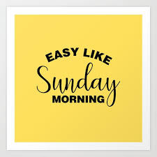 Sunday's now open!