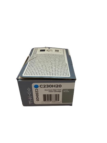 C230H20 Lexmark Toner cyan