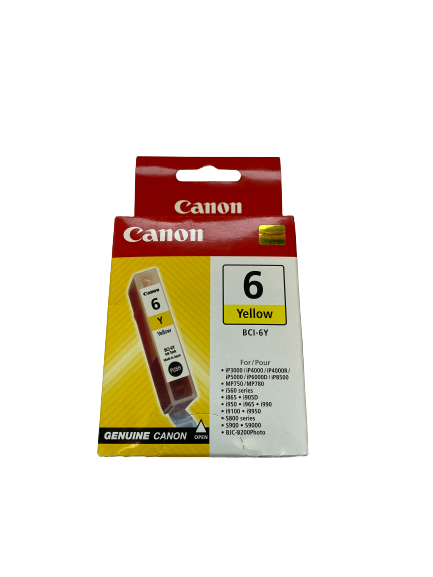 4708A002 Canon BCI-6Y INK yellow