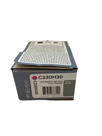 C230H30 Lexmark Toner Magenta