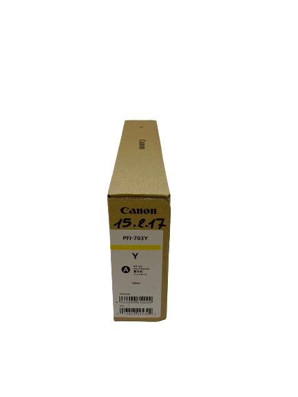 2966B001 Canon PFI-703Y Tintenpatrone gelb