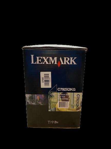 C792X2KG Lexmark Toner schwarz