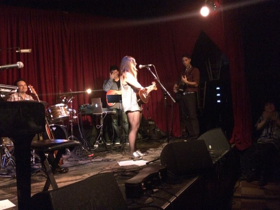 live at The Hotel Cafe