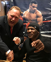 Jeff Peoples of Window Book withMike Tyson in Las Vegas
