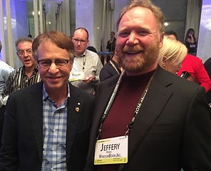 Jeff Peoples of Window Book With Ray Kurzweil, entrepreneur, best-selling author, and one of the world's leading inventors, thinkers, and futurists.