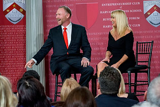 Jeff Peoples of Window Book with Suzanne Somers at the Business Expert Forum at Harvard Faculty Club.