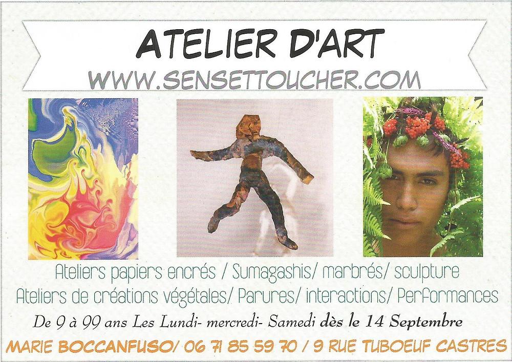 Atelier d'art- castres-France