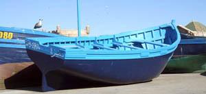 Barques Bleues.