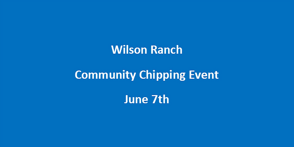 Wilson Ranch HOA June 7th