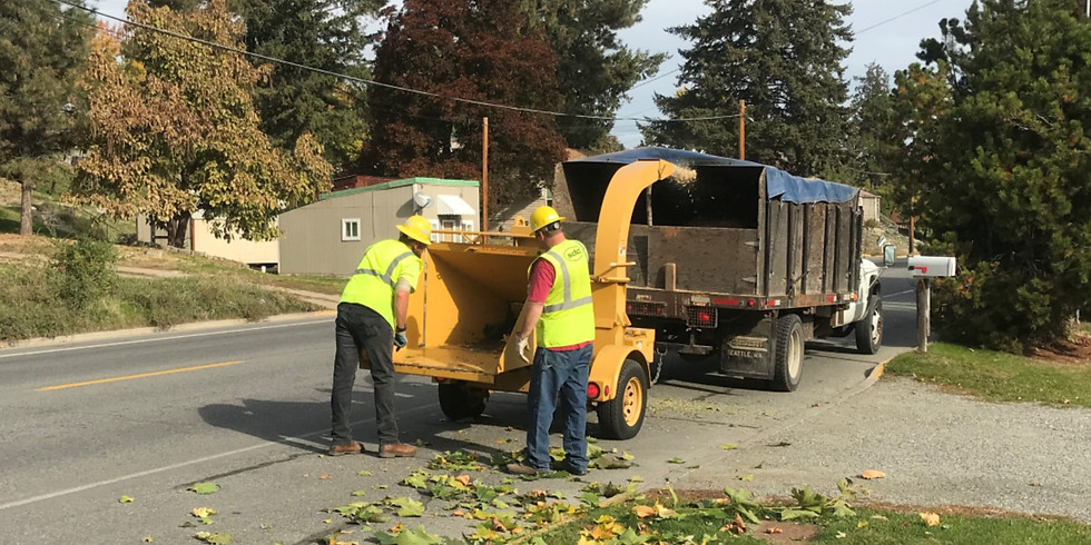 City of Okanogan Chipping Event May 11th
