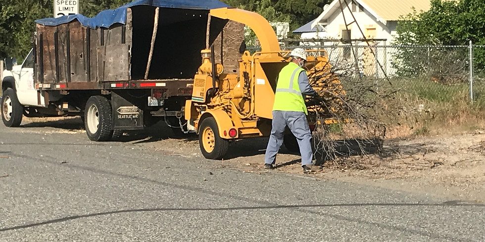 City of Okanogan Chipping Event October 14th
