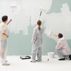 Pared de pintura